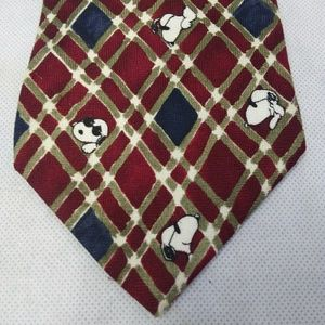 Peanuts Snoopy Tie Joe Cool Gridlock Joe